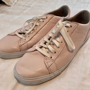 Cole Haan Leather Pink Sneakers
